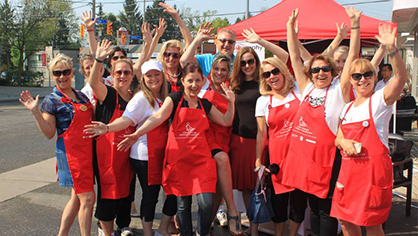 Royal LePage Bayview Shelter Foundation Garage Sale