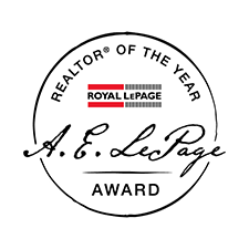 A.E LePage Award - realtor of the year logo